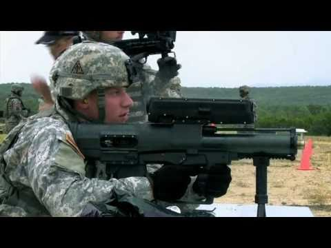 "XM25 25mm Counter Defilade Target Engagement (CDTE) System AKA ""The Punisher"""
