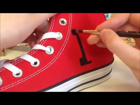 Custom Converse: One Direction Converse