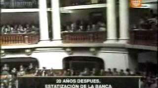 Estatización De La Banca Por Alan García