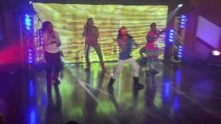 My baby RILEY Burruss & her friends perform Nikki Minaj Starships