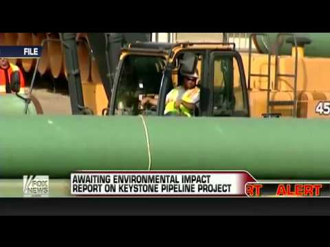 'OBAMA BLOCKED' Keystone Pipeline  Awaiting Environmental Impact Report