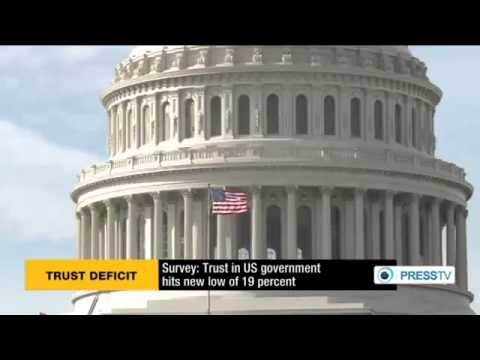 Survey Trust in US government hits new low of 19 percent