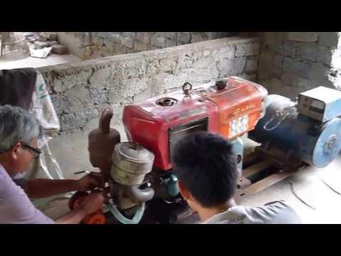 Máy Phát Điện Biogas chạy Biogas - Diezen
