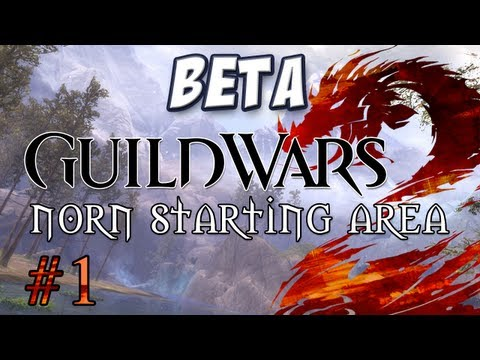 Yogscast - Guild Wars 2: Norn Part 1 - Character Creation and Starting Cutscene