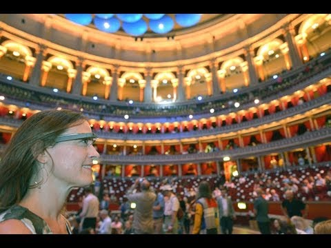 A Day at the Proms with the NYO and Google Glass