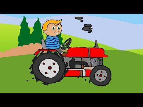 Traktorek -animacja dla dzieci  Tractor Bajki dla dzieci.