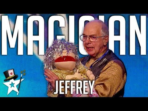 Funny Magician Fires Puppet Assistant Out Of Canon on Britain's Got Talent | Magicians Got Talent