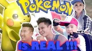 Pokemon in Real Life - (English w/ Viet Subtitles) Phong Le, Phillip Dang, Thi Truong, Mindy Huynh