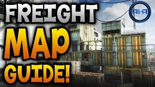 "GHOSTS Map Guide - ""FREIGHT""! - Locking Doors & Best Spots! (Call of Duty Ghost)"