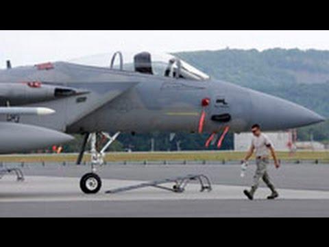 Chiến đấu cơ F-15 Mỹ rớt ở Virginia