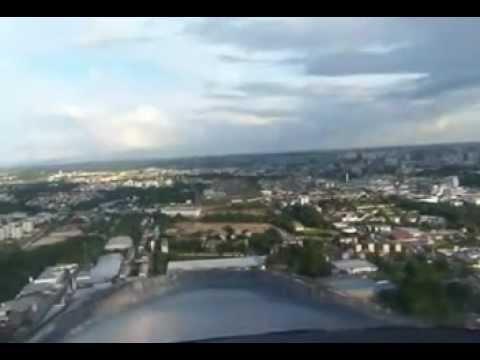pouso aeroclube de Manaus