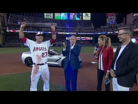 2014 ASG: Trout collects MVP Award, new Corvette