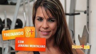 Treino de ombro e deltóides com Janaina Montalvão