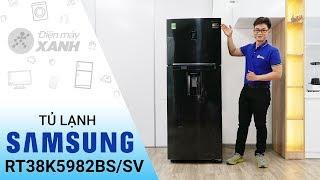 Tủ lạnh Samsung Inverter 382 lít RT38K5982BSSV - Mạnh mẽ đến bất ngờ   Điện máy XANH