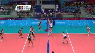 Belgium Vs USA Women's Volleyball Gold Medal Match