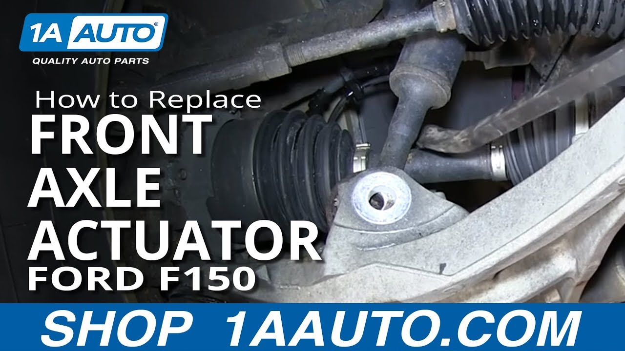 how to install replace front axle actuator 2004 2013    ford     how to install replace front axle actuator 2004 2013    ford