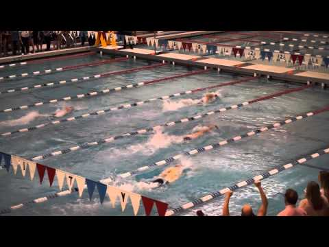 Oakland University Mens 400 Freestyle Relay with Amr Elwy El Sayed