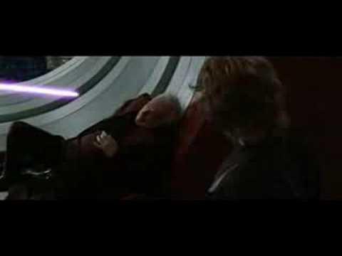 Mace Windu vs. Darth Sidious - YouTube