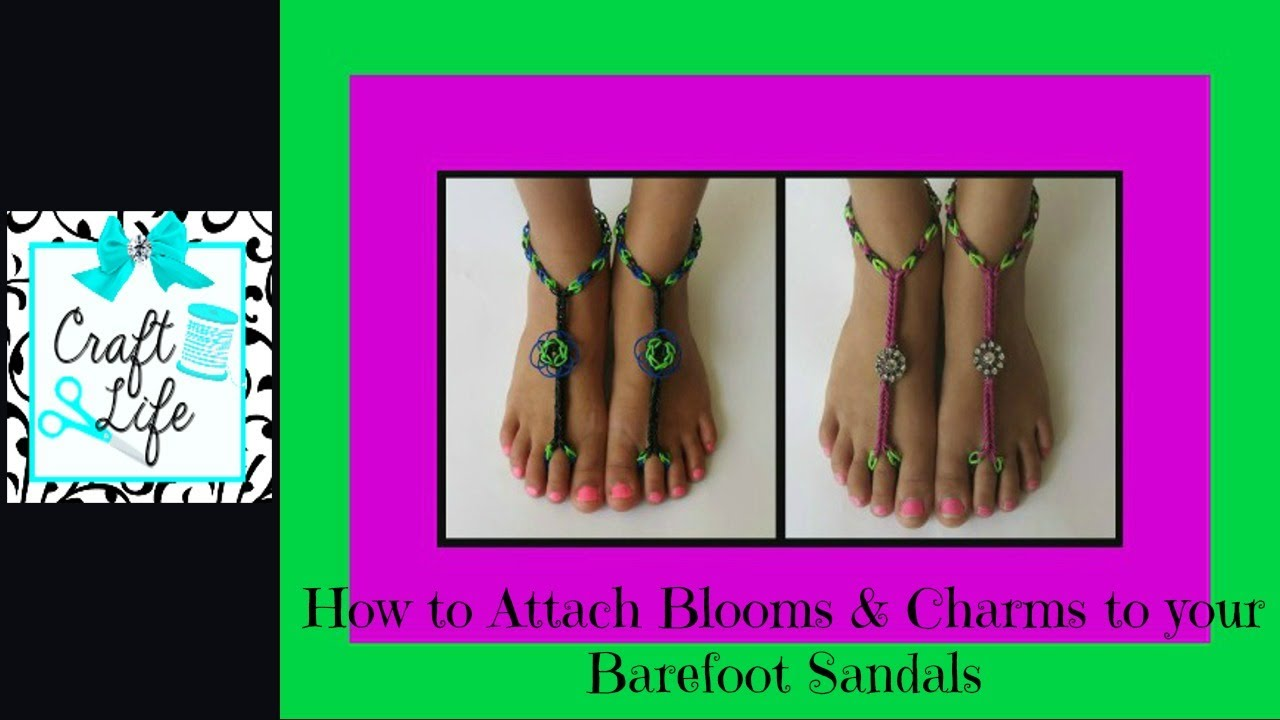 Craft Life How To Attach Blooms Amp Charms To Rainbow Loom