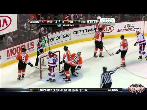 Capitals at Flyers  Game Highlights   NHL VideoCenter   Philadelphia Flyers 1