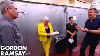 """""""YOU'RE FIRED!""""   Gordon Ramsay's Hotel Hell"""