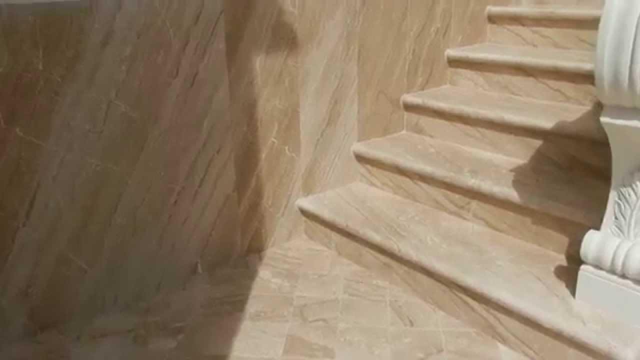 Rivestimento esterno e scala esterna in marmo youtube for Scale esterne in marmo