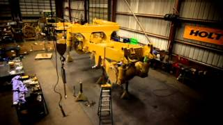 [HOLT CAT Irving, (972) 721-2000 777D Truck Rebuild - Caterpi...] Video