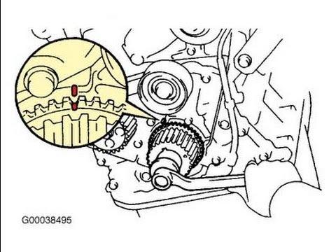 Замена ремня ГРМ на двигателе 5S-FE