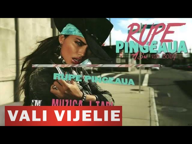 VALI VIJELIE, ASU si BOBY - Rupe pingeaua HIT 2014 (LYRICS VIDEO)