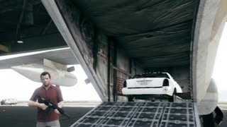 GTA V Guide: How To Store Cars Inside The Titan Cargoplane