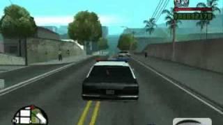 Poscig Za Audi Gta San Andreas Policja Drogówka