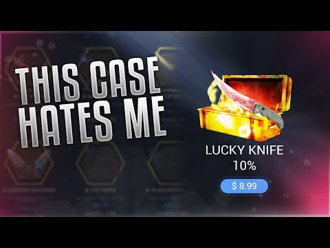 THIS CASE HATES ME  - CS:GO CASE OPENING ON DADDYSKINS