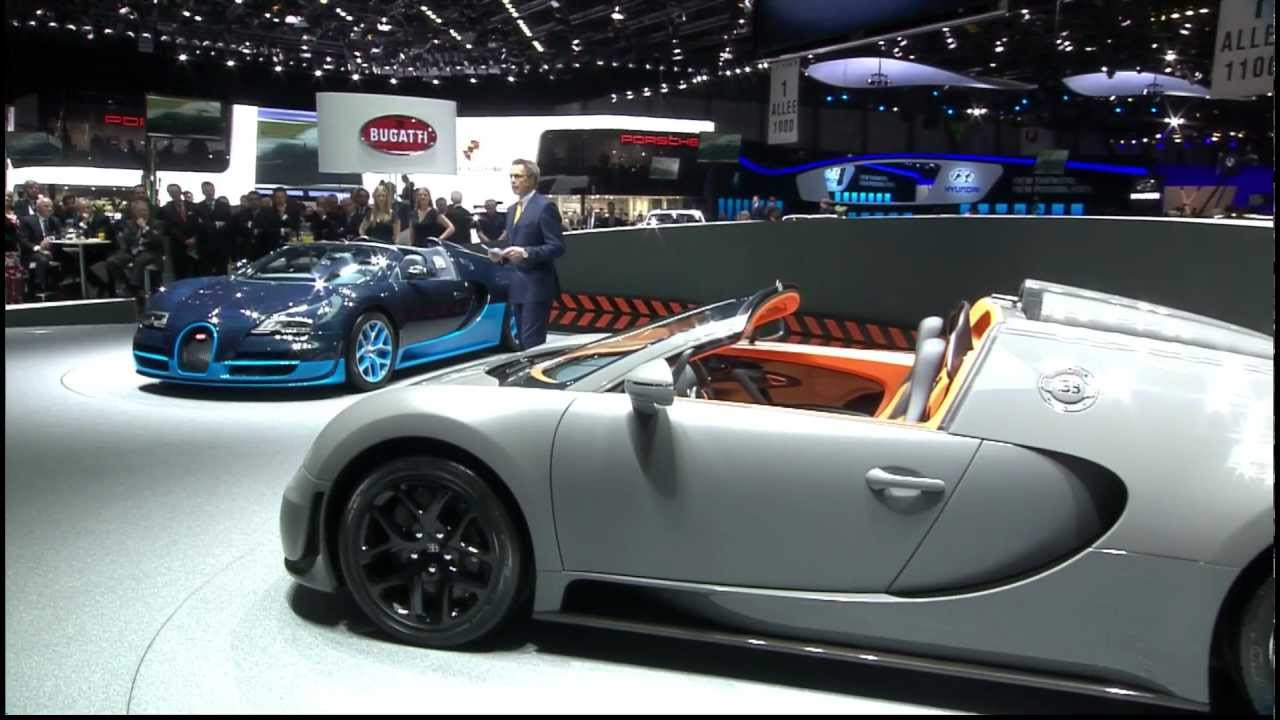 bugatti veyron 16 4 grand sport vitesse premiere at geneva motor show march. Black Bedroom Furniture Sets. Home Design Ideas
