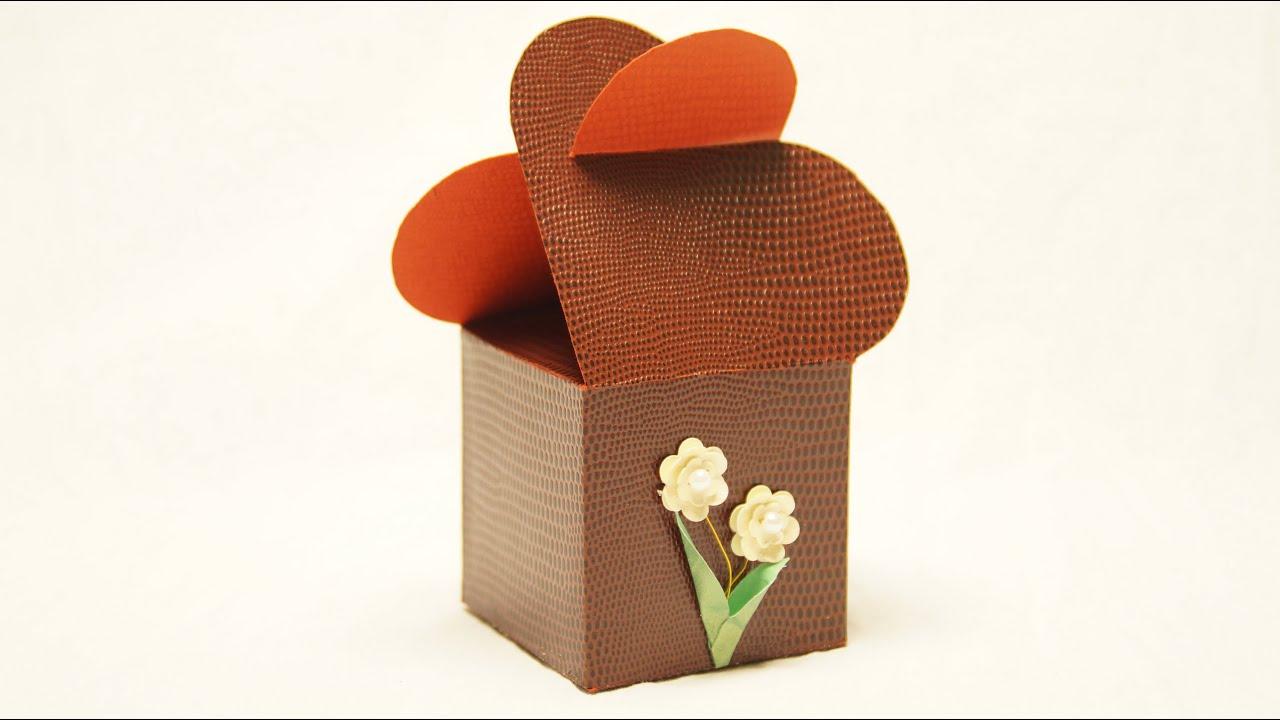 geschenkverpackung basteln zu valentinstag hochzeit muttertag youtube. Black Bedroom Furniture Sets. Home Design Ideas