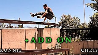 Parkour Game: Add On - Ronnie VS. Chris