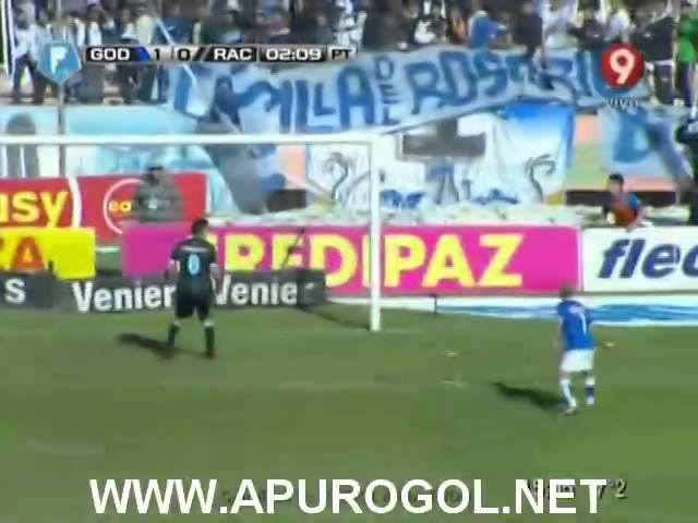 Godoy Cruz vs Racing Club (2-1) Torneo Final 2014 Fecha 19