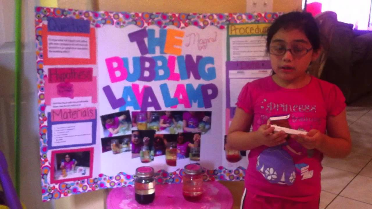 first grade science projects