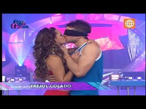 Esto es Guerra: El beso más largo de Angie y Nicola - 01/10/2012