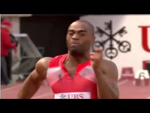 Tyson Gay claims 100m (9.79) in Lausanne