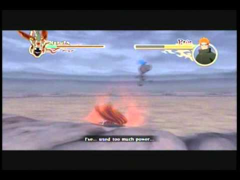 Naruto Shippuden Ultimate Ninja Storm 2: Sage Naruto VS Pain (Boss Battle) Part 1/2 ~English~
