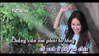 [Karaoke HD] Làm Vợ Anh Nhé | Full Beat Gốc | Chi Dân | Newtitan