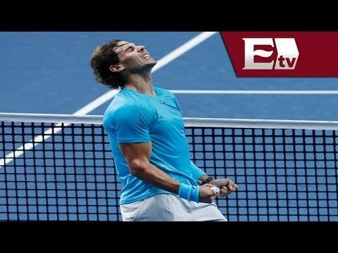 Rafael Nadal habla de su victoria en el partido frente a Denis Istomin / Adrenalina