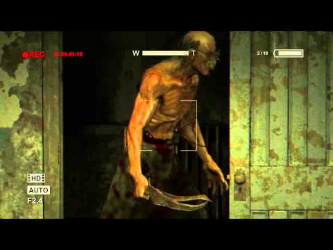Tragger can't move(BUG) - Outlast scary moments