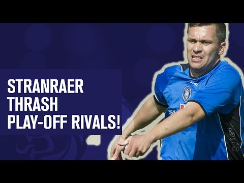 Stranraer first win over Pars in nearly 35 years | Stranraer 3-1 Dunfermline