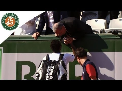 Monfils v. Fognini at 2014 French Open - An emotional encounter