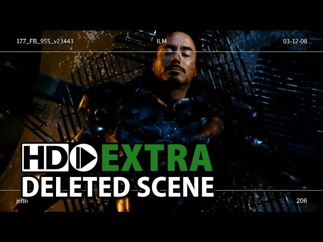 "Iron Man (2008) ""Fight Ending"" Deleted, Extended & Alternative Scenes"