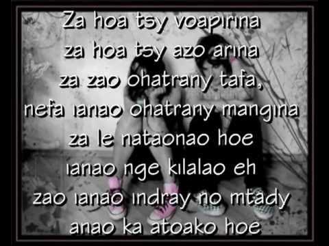 Zazaluck Ft Meizah - Tsy Mendrika Ahy Ianao (Lyrics)