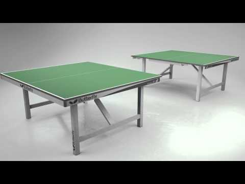 Butterfly Europa 25 Anti Skid Table Tennis Table Green