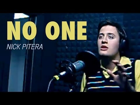 me singing No One by Alicia Keys Nick Pitera (Cover)