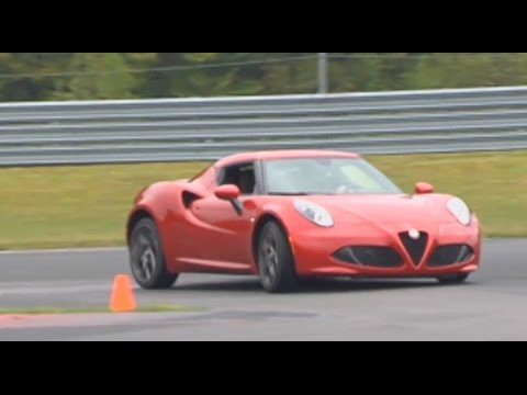 The sights, sounds and smells(?) of the Alfa Romeo 4C